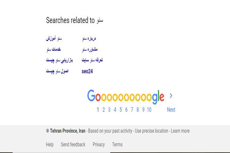 تاثیر گوگل ریلیتد در پیدا کردن کلمات کلیدی